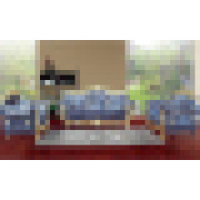 Sofá com moldura de madeira do sofá para mobília da sala de visitas (D929B)