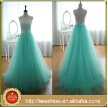 Real Sample Color Combination Lace Top vestidos de novia(AC-1153)