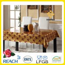 Виниловая ПВХ золотые и Выбитая Крышка стола / стол накладки для свадьбы