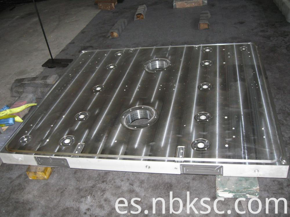 Large Aluminium Plate Machining