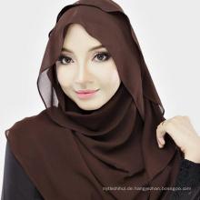 Bequemer stilvoller Frauenart und weise moslemischer hijab Schal Guangzhou