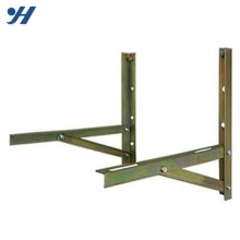 Durable In Use Powder Coating Steel Wall Mount Bracket for air conditioner outdoor unit