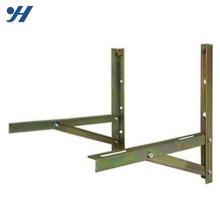 Durável Em Uso De Pó De Revestimento De Aço Suporte De Montagem De Parede para unidade de ar condicionado ao ar livre