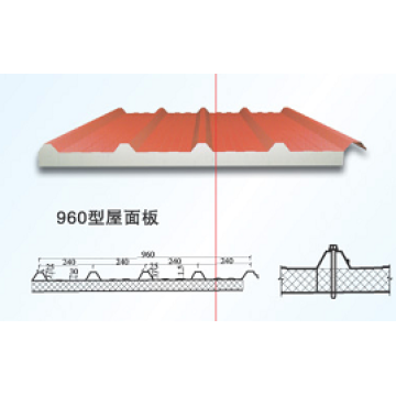 EPS Panel / EPS Sandwichplatte für Stahlbau (XGZ-47)