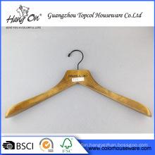 Garment wooden broad shoulder hanger