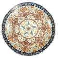 Food safe luxury 14inch Large  Serving plate, Party ceramic Fruit Dishes for restaurant for Muslim