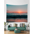 Tapestry Wall Hanging Ocean Sea Wave Beach Series Tapestry Sunrise Sunset Dusk Tapestry do sypialni Home Dorm Decor