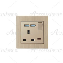 Switched Socket With Usb