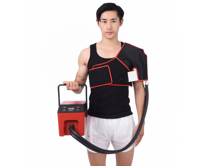 shoulder cold compression therapy system
