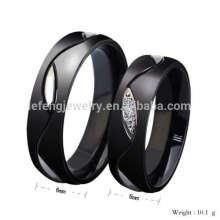 Custom black diamond engagement promise rings,black diamond vintage ring jewelry