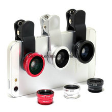 2 in 1 New Cellphone Accessories Fish Eye Camera Lens