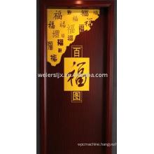 WPC door for different design