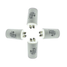 Hight Quality Motor 4UF Polypropylene Film Capacitor with 250 to 500V AC Rated Voltage and 8 to 100UF Capacitance Range