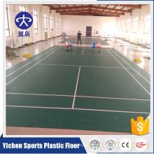 Fabricant organique de plancher de rouleau de PVC de matières premières organiques et 100% pures de PVC