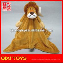 atacado cobertores de cabeça de leão animal super macio cobertores de pelúcia