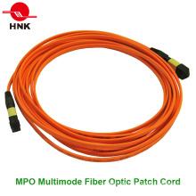 MPO Multimodo Singlemode Fibra Óptica Patch Cord