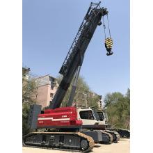 Maquinaria de construcción pesada Grúa sobre orugas telescópica