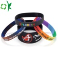 Gradientes Bandas de energía Slap-up Silicone Powder Wristbands