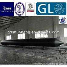 GL Certificate Dia1.5mX8m Rubber Pontoon For Salvage
