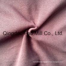 Poly/Rayon/Spandex Knitting Fabric 2X2 Rib