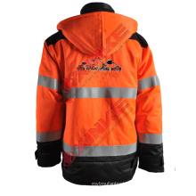 Wholesale anti-fire anorak with permanent function 1.Fabric technicalof anti-fire anorak :