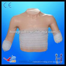 ISO Advanced Bandaging Modèle de position supérieure, modèle de soin des plaies