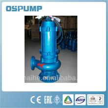 WQ / QW bomba de aguas residuales marina