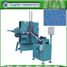 Round wire clothes hanger hook bending and making machine