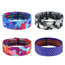 Elastic Workout Fabric Bands Widerstand für Hip Up