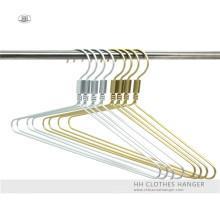 Aluminio oro gancho de Metal moda cobre percha