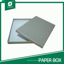 Elegante caja de regalo de cartón para embalaje con tapa