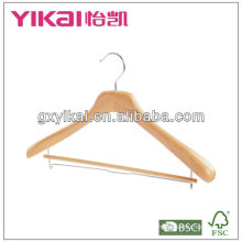 wooden coat hangers for clothes with best quanlity