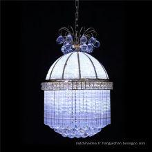 Led pendentif nid d'oiseau, éclairage pendentif restaurant en cristal