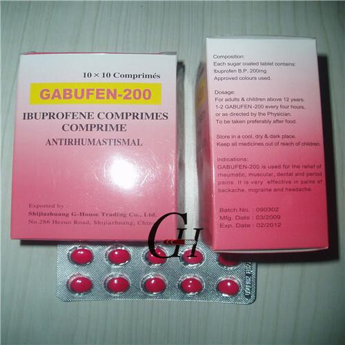 Ibuprofen Tablets BP 200mg