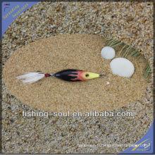 BJL003 gabarit artificiel de queue d'appât pour la pêche