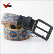 2014 Ethnic Style Jean Canvas Belts for Men's Jean Canvas Belts