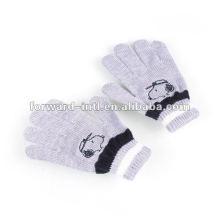 100% cashmere winter gloves