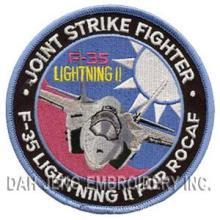 F-35 Воздушные силы вышитые патчи