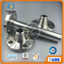 A182 F316 Stainless Steel Long Weld Neck Flange (KT0308)