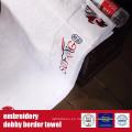 Tobby Bordado Terry Towel de algodón 100% para hotel
