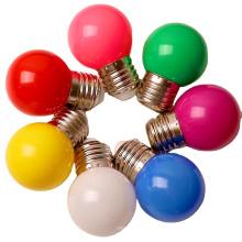 China Manufacture Christmas Color Decorative Lamp PC Bulb