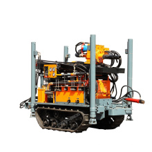 DTH crawler base water well drilling rig machine drillng 150m rock drilling machine