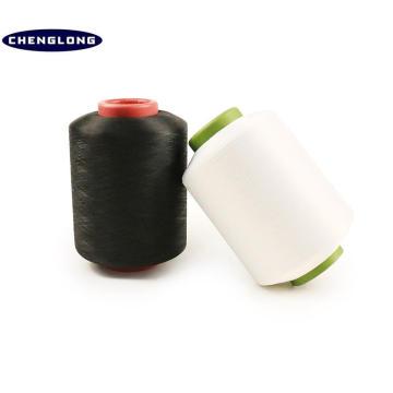 Fabricante 100% del hilado de polyester en hilado de polyester de alta tenacidad de China