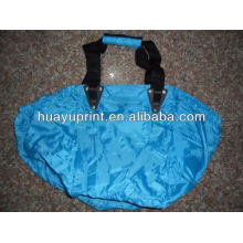 210D polyester trolley supermarket shopping bags