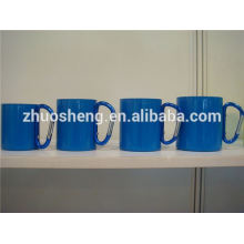 fashion plastic cup with carabiner