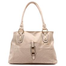 Fashion Flower Embossed Print Ladies Handbag (ZXS0065)