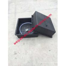 Bateria solar de 2PCS * 120A Bateria de terra subterrânea Solar Waterproof Battery Box