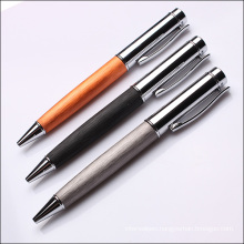 High Quality Wire Drawing Metal Business Ballpoint Pen