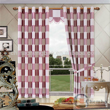 Luxury curtain fabric bedroom curtain styles