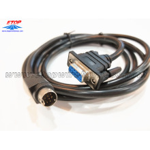 9PIN male DIN to D-sub9 female connector cable